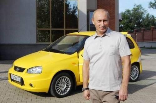 автомобили Путина
