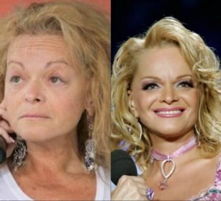Лариса Долина без макияжа